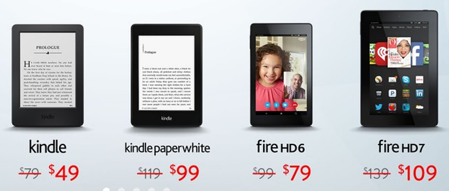 Black Friday Deal Alert: Up to $30 Off On Kindles and Fire Tablets!