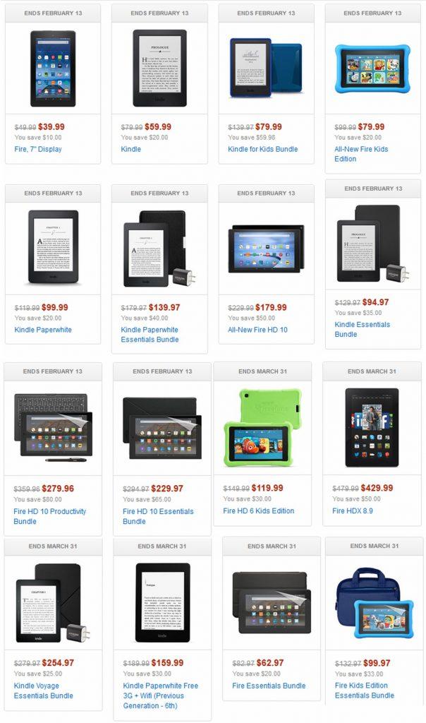 BargainAlert: Amazon Device Deals