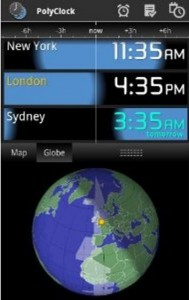 Free App of the Day: PolyClock World Clock