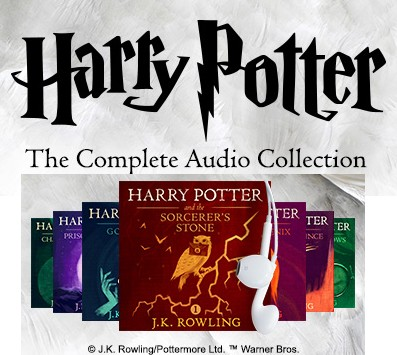 Kids on Fire: The Harry Potter Collection, Now In Audible Format!