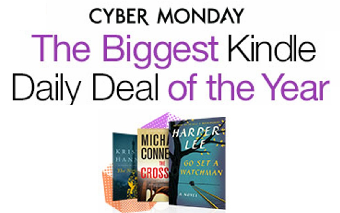 Best KindleDailyDeal All Year For Cyber Monday!
