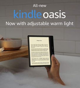 Amazon just announced a new Kindle Oasis with a special backlight for easier reading that won't strain your eyes